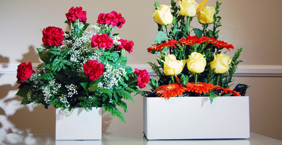 California corrugated cardboard flower packaging boxes of any size