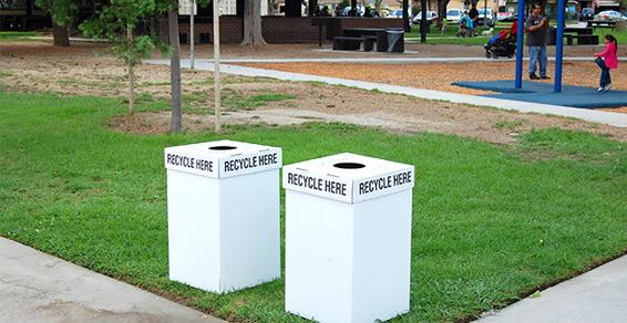 Los Angeles corrugated cardboard trash boxes Santa Fe Springs CA