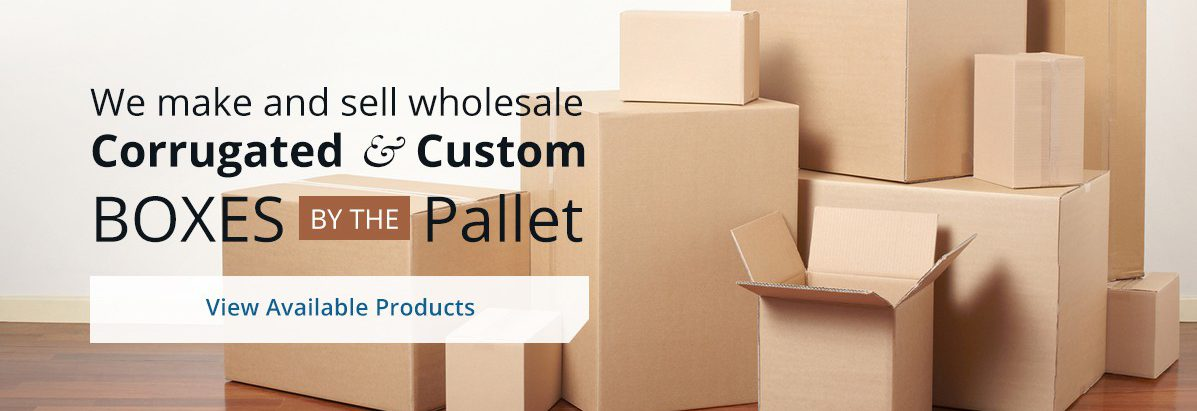 Orange County Gabriel Container wholesale corrugated custom boxes by the pallet Los Angeles 1197x449