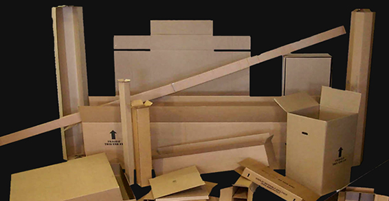 Southern California corrugated and custom boxes by the pallet for all packaging needs in Los Angeles